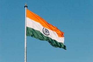 Indian Flag for election